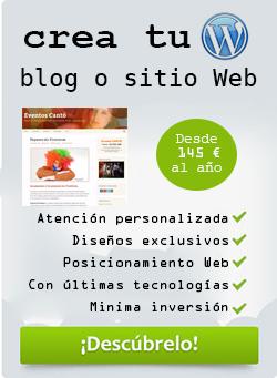 Crea tu blog o página Web profesional